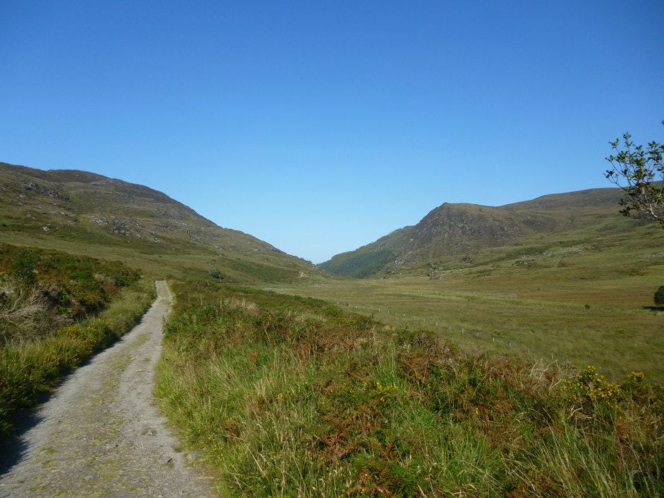 Old Kenmare Road path on the Kerry Way