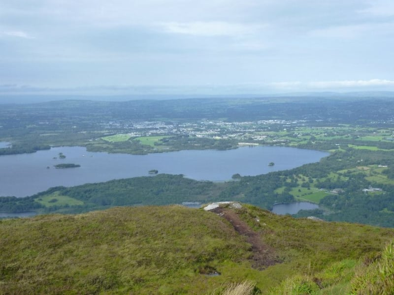 View from the summit of Torc Mountain