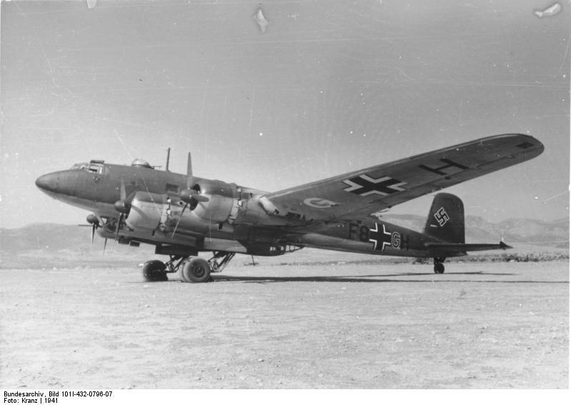 """Flugzeug Focke-Wulf Fw 200 """"Condor"""""""