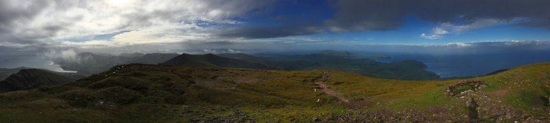 Mountain_Brandon_Pano_View_from_Summit_Tralee_Dingle_Kerry_Bay_Area_Wild_Atlantic_Way_Ireland