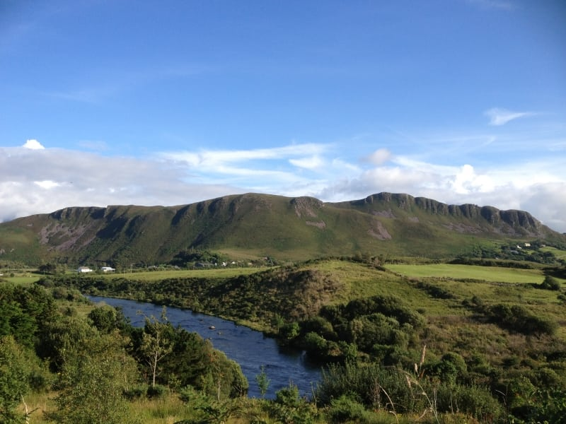 the kerry way walking trail route map and guide ireland
