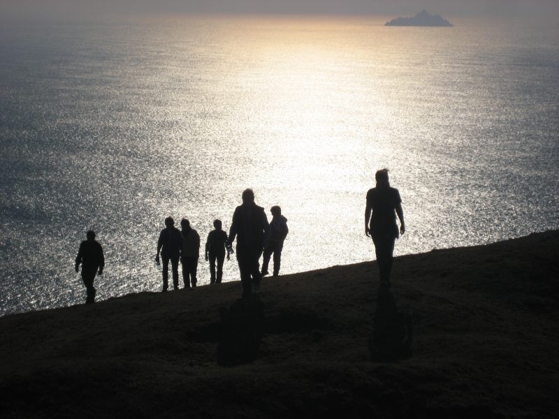 Skellig Islands Silhouette, Bray Head Valentia Island, Kerry, Wild Atlantic Way, Start Wars, Walking Trails, Ireland
