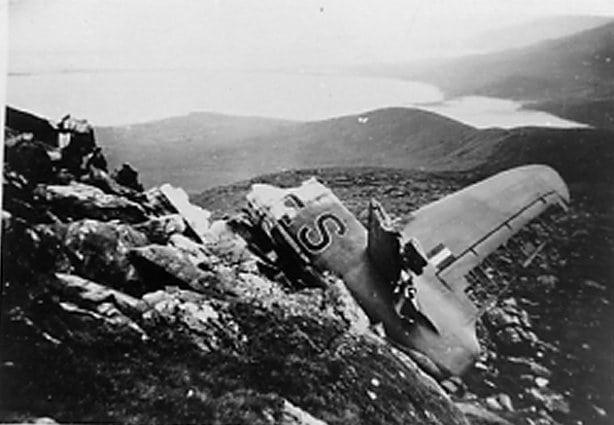 Sunderland Plane wreackage, Faha Ridge, Mount Brandon, Kerry, Ireland, Wild Atlantic Way