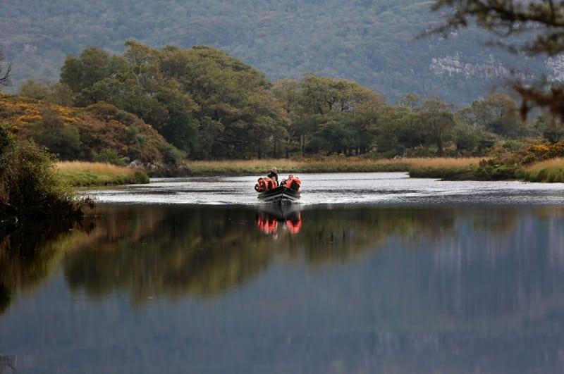Boating Trip Gap Tour, Killarney Lakes, Kerry