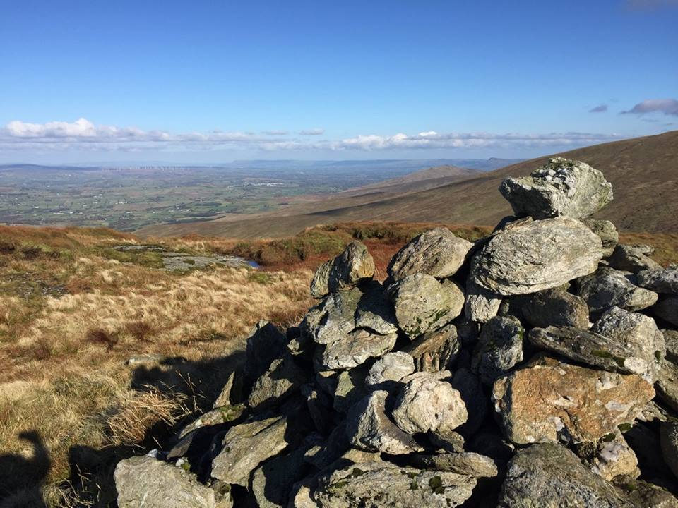Sawel Mountain, Sperrin Mountains, Co. Tyrone, Northern Ireland by Sperrins Hillwalking Club