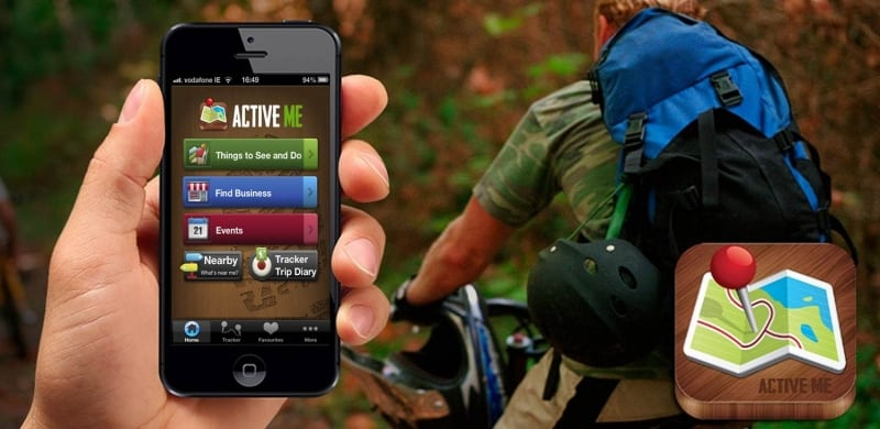 ActiveMe Travel Guide App Banner