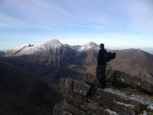 View of Carrauntoohil from The Bone