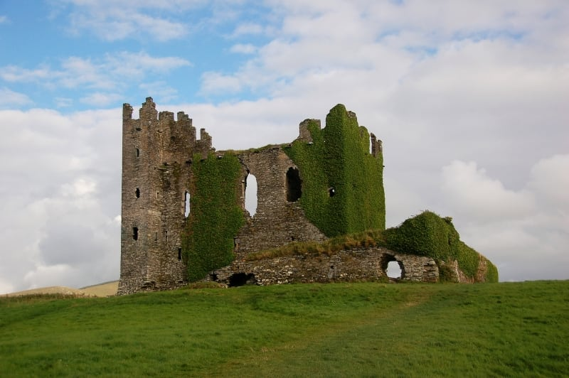 Ballycarbery Castle Caherssiveen, Ring of Kerry, Wild Atlantic Way, Ireland Marcella Bona