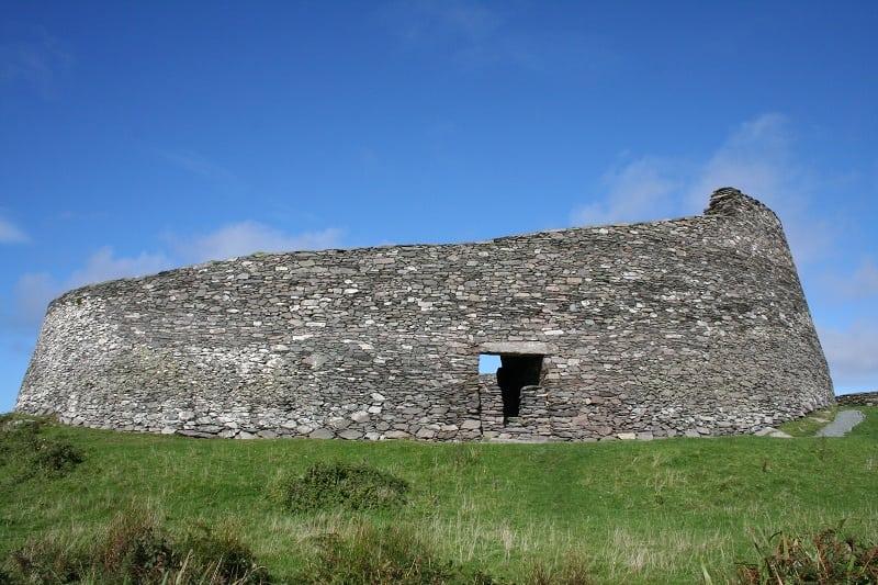 Cahergal Fort, Cahersiveen, Ring of Kerry, Wild Atlantic Way, Ireland