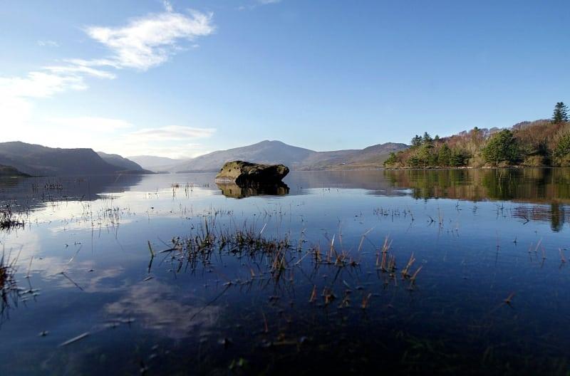 Caragh lake, ring of Kerry, Wild Atlantic Way, Ireland