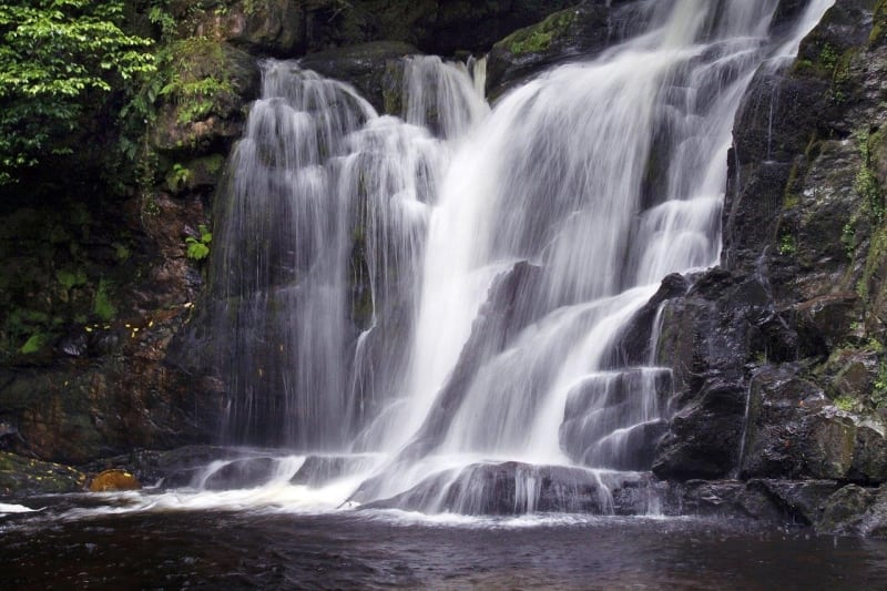Torc Waterfall, Killarney National Park, Ring of Kerry, Ireland by Valerie O'Sullivan