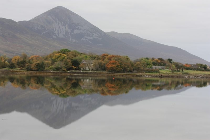Croagh Patrick Walk and Mountain Pilgrim Path and Hiking Trail from Westport Harbour Clew Bay Co Mayo Wild Atlantic Way Top 10 Best Walking Routes in Ireland