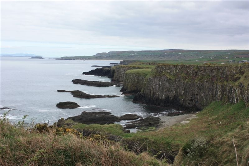 Causeway Coastal Walk, Antrim, Northern Ireland