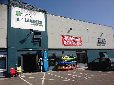 Landers outdoor world tralee co kerry irelands wild for Fishing gear stores near me