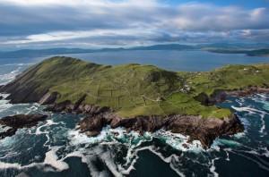 Aerial Hogs Head on the Wild Atlantic Way by Valerie O'Sullivan