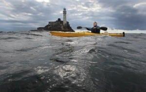 Jim Kennedy Fastnet Kayak on the Wild Atlantic Way by Valerie O'Sullivan