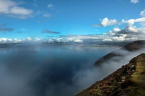 Kerry Way Drung Hill on the Wild Atlantic Way by Valerie O'Sullivan