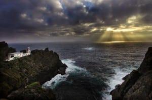 Skellig Lighthouse on the Wild Atlantic Way by Valerie O'Sullivan