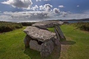 Toormore Altar Wedge Tomb, Mizen Head, Co. Cork on the Wild Atlantic Way by Valerie O'Sullivan