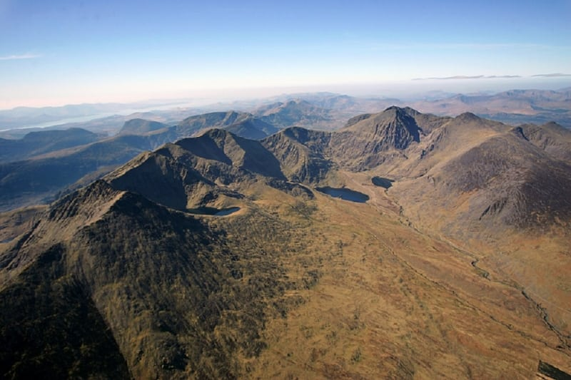 Macgillycuddy S Reeks And Carrauntoohil Entire Mountain