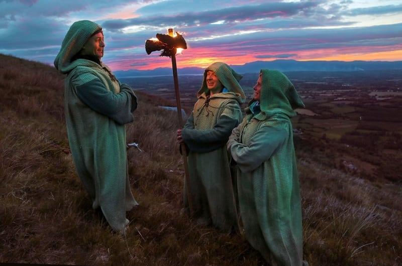 Killarney Walking Festival Launch Druids Sunset
