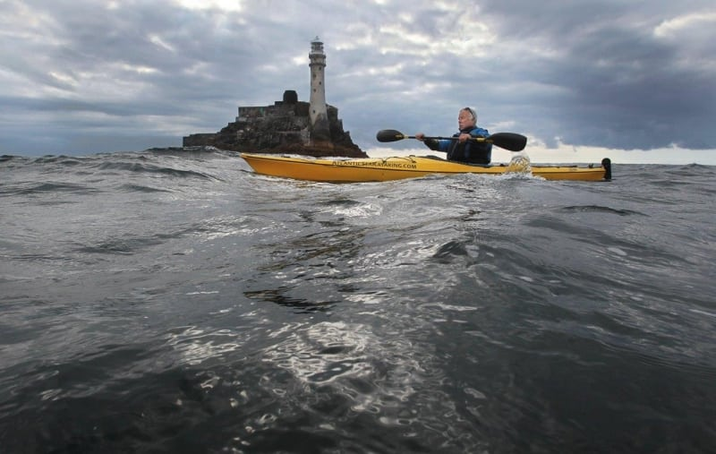 Jim Kennedy Fastnet Kayak on the Wild Atlantic Way by Valerie O'Sullivan