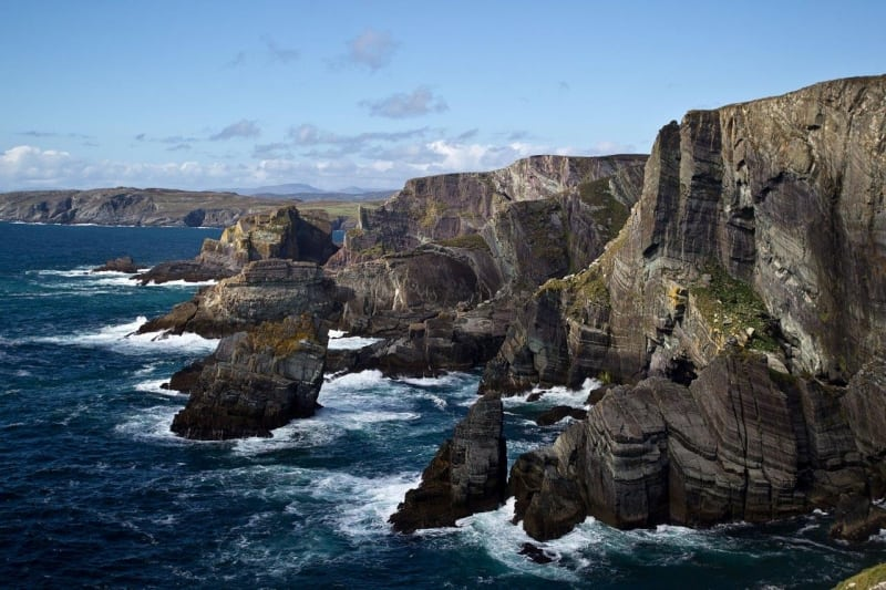 Mizen Head Cliffs on the Wild Atlantic Way by Valerie O'Sullivan