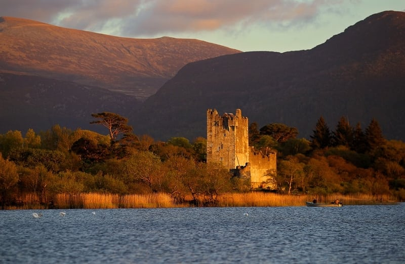 Ross Castle, Killarney, Kerry by Valerie O'Sullivan