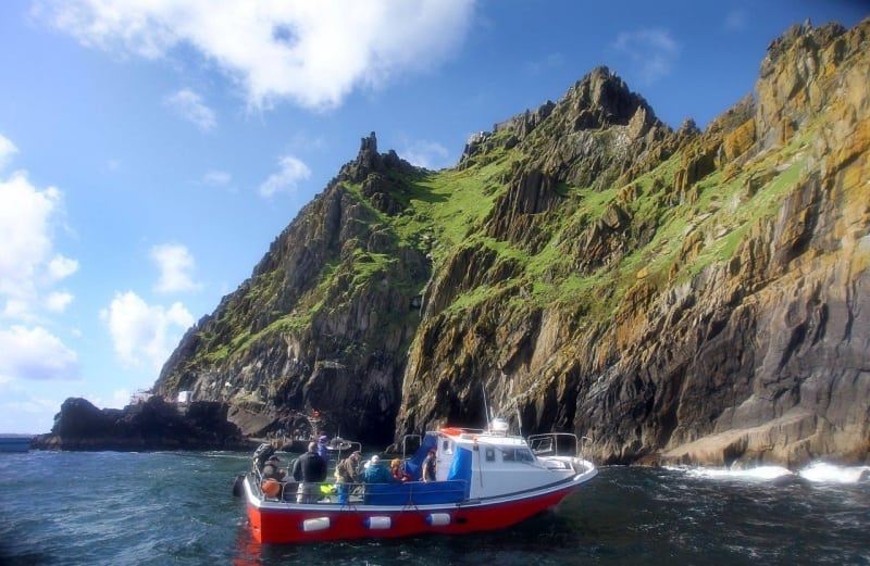 Skellig Boat Trip on the Wild Atlantic Way by Valerie O'Sullivan