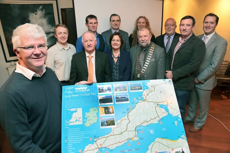 Loop Head Heritage Trail Project Launch, Kilkee, Clare, Wild Atlantic Way, Ireland
