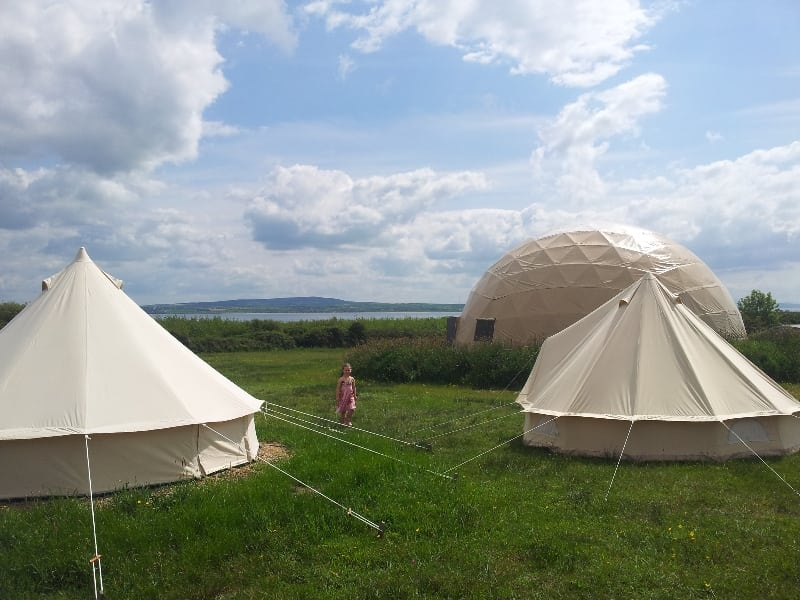 Pure-C&ing-Gl&ing-Yurts-Querrin-Loop-Head-Co. & Pure Camping Querrin Loop Head Co. Clare Wild Atlantic Way ...