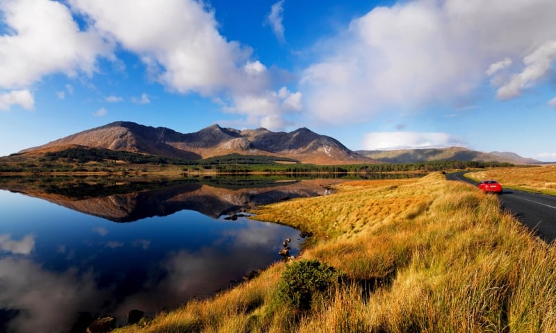 Top Cycling Routes in Ireland, Connemara Cycle Loop, Galway, Ireland
