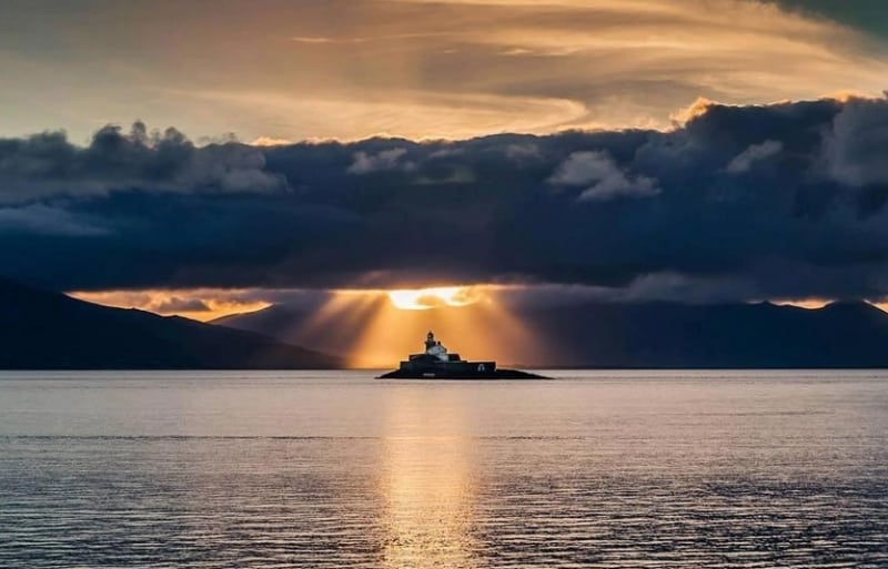 Fenit Lighthouse, near Tralee, Co. Kerry on the Wild Atlantic Way by Kirk Kelly via facebook