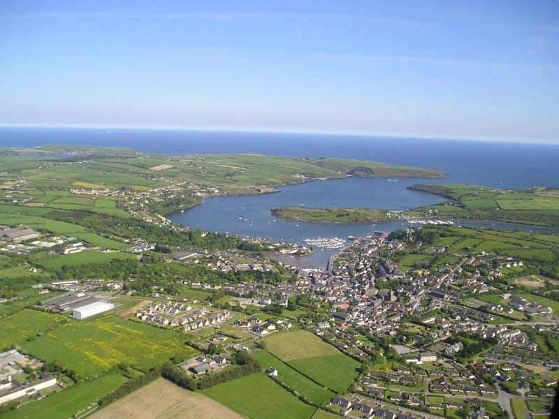 Kinsale Aerial Photo, Co. Cork, Wild Atlantic Way, Ireland