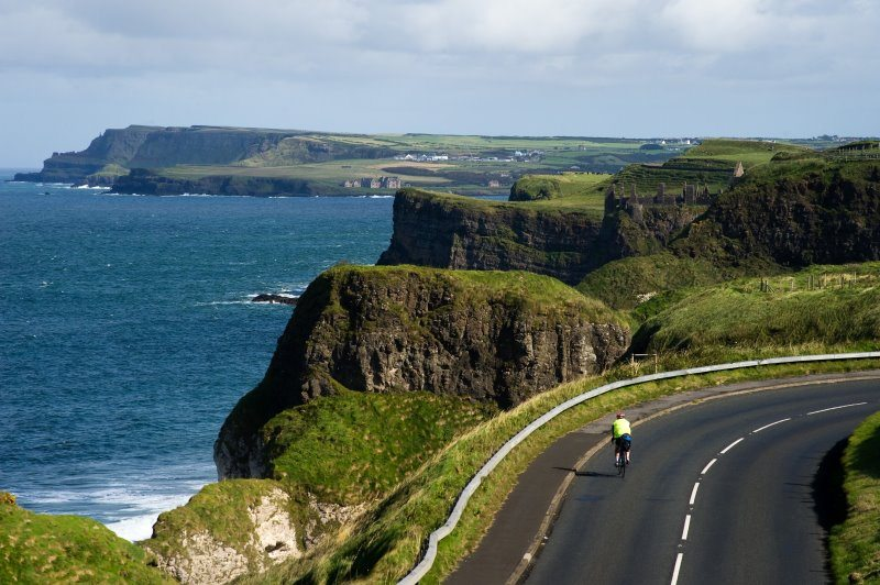 Causaway Coast Scenic Drive, Derry to Ballycastle to Belfast, Co, Antrim - Northern Ireland connects to Irelands Wild Atlantic Way