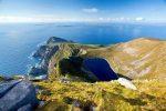 Croaghaun Cliffs and Bunnafreva Lough West Corrie Lake, Achill Island, Wild Atlantic Way