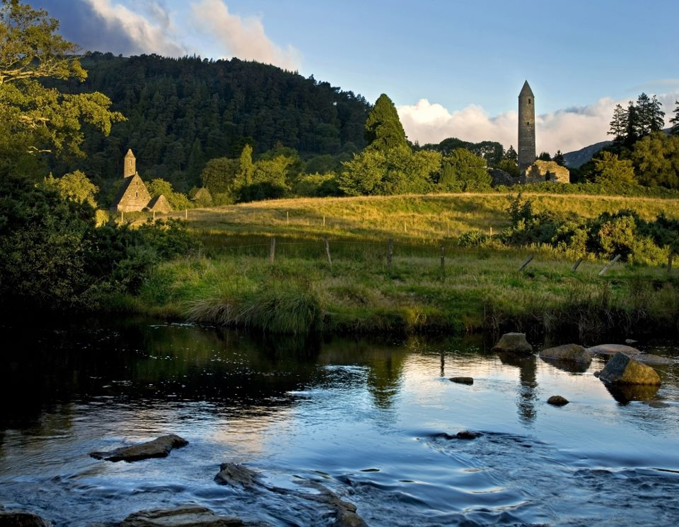 The famous Glendalough in County Wicklow, Irelands Ancient East