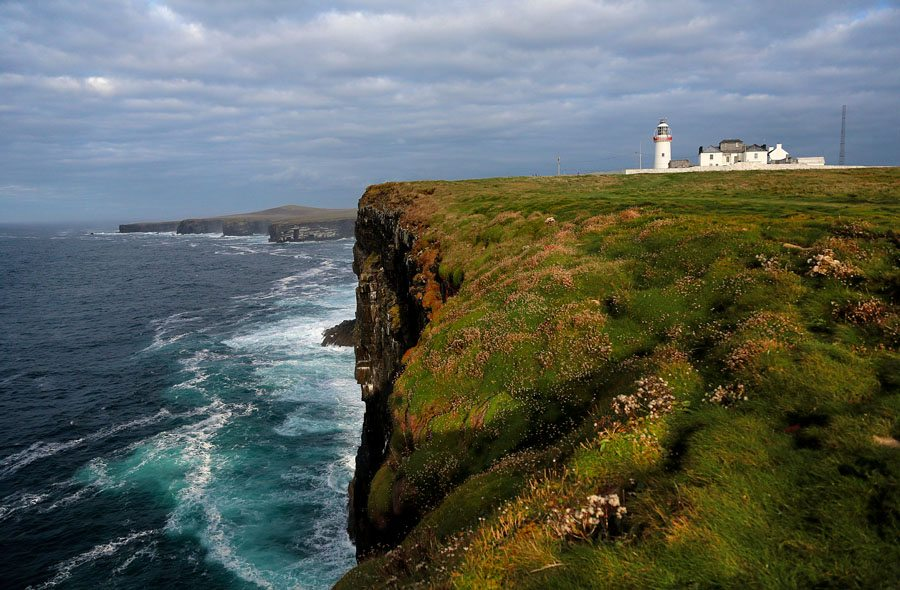 Loop Head Light House, Peninsula and Heritage Trail, Co. Clare on the Wild Atlantic Way