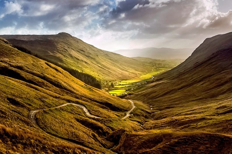 Glengesh Pass Scenic Drive, Glenties, Donegal, Irelands Wild Atlantic Way