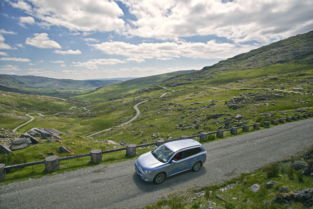 Healy Pass on the Beara Peninsula Scenic Drive, Irelands Wild Atlantic Way by Lukasz Warzecha