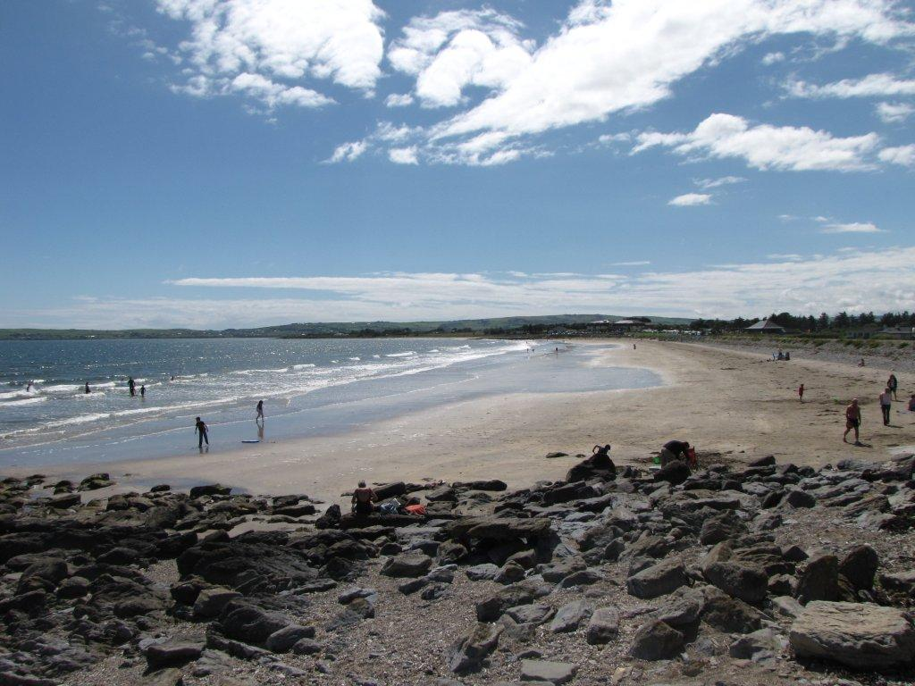 Clonea-Blue Flag Beach-Waterfords Deise Greenway, Copper Coast, Irelands Ancient East