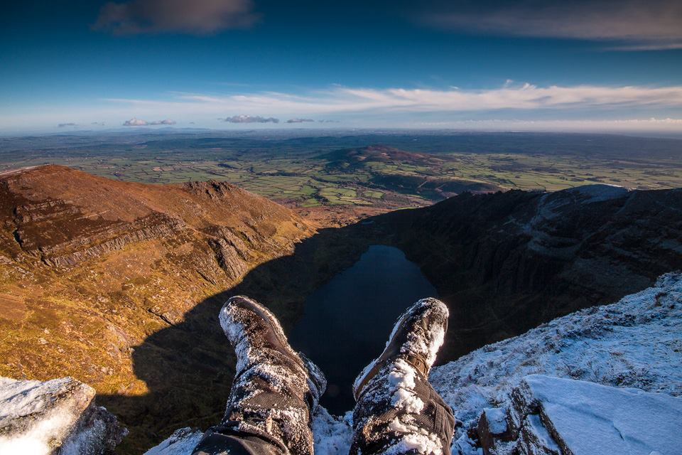 Coumshingaun Lake, Waterford 2014 Muddy Boot Walking Guides