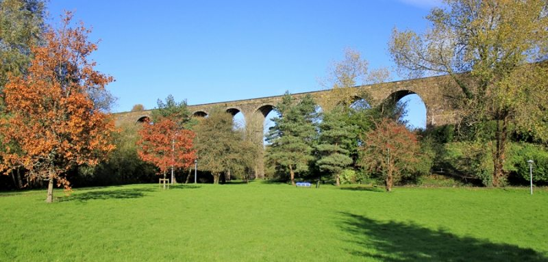 Deise Greenway Cycling and Walking Trail, Waterford to Dungarvan Railway Aquaduct, Ireland