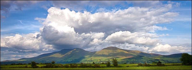 Galtee Mountains, Cork Tipperary, Munster Vales, Irelands Ancient East Photo John Finn