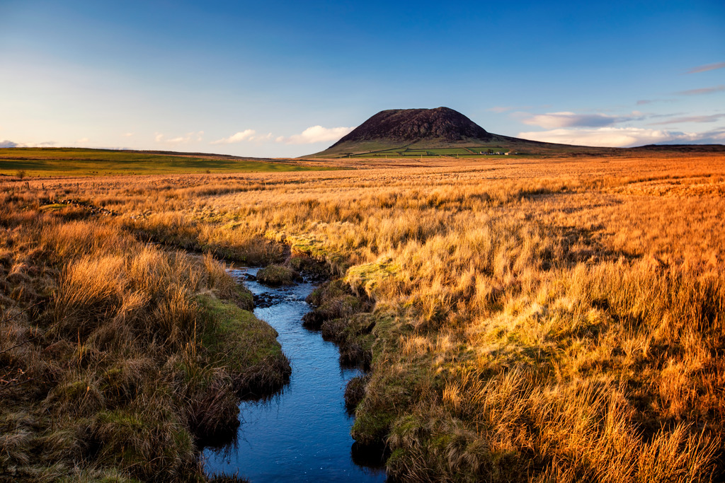 Slemish Mountain Loop Walking Route, Holy Hill of St. Patrick, Ballymena, Antrim, Northern Ireland