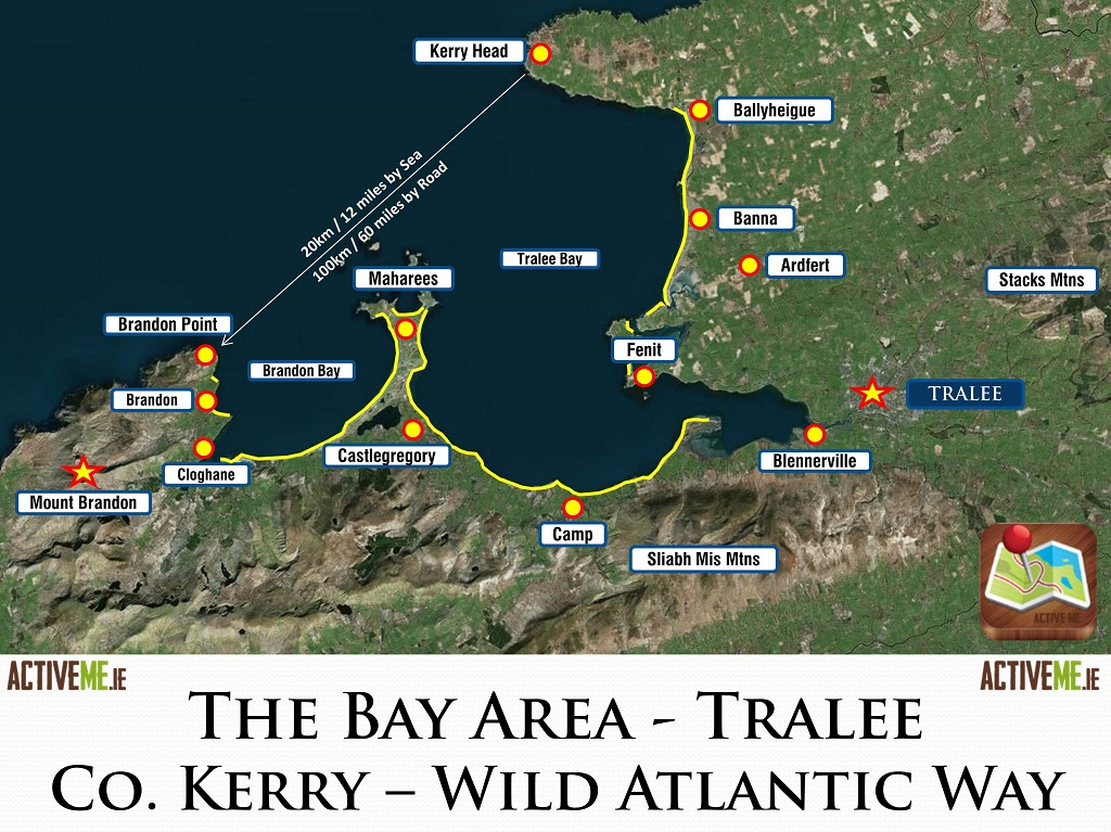 Tralee and Bay Area, Co Kerry, Irelands Best Beaches Mountains Walks Cycling Fishing Surfing Watersports Heritage History Attractions Family Holiday Destination Wild Atlantic
