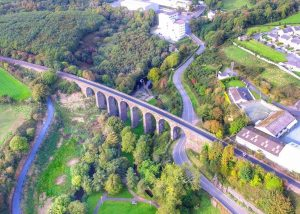 Waterfords Deise Greenway Cycling and Walking Trail, Route Map and Guide, Waterford to Dungarvan Railway Aquaduct, Copper Coast Irelands Ancient East