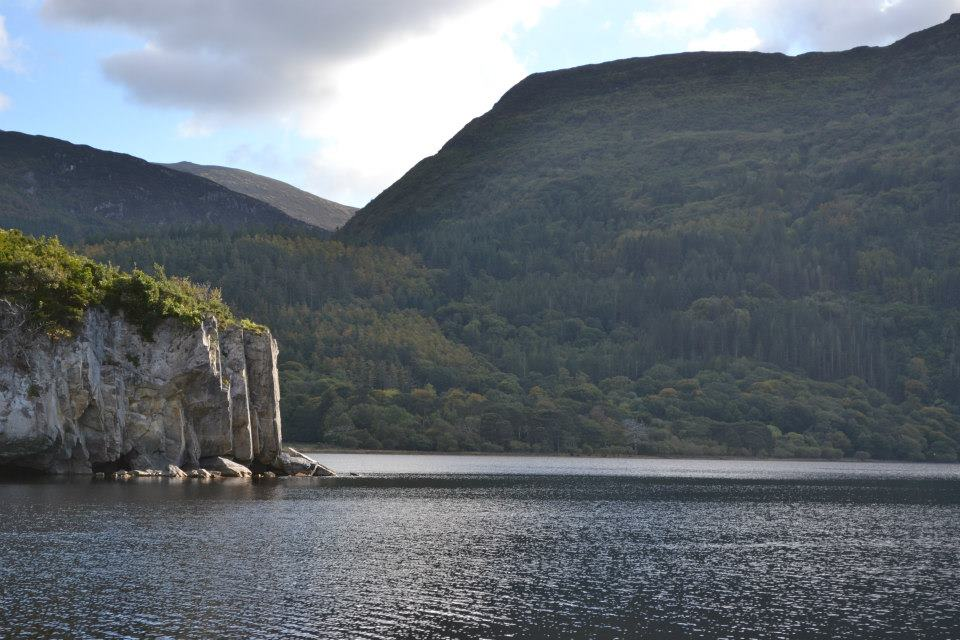 View of Torc Mountain accross Muckross Lake