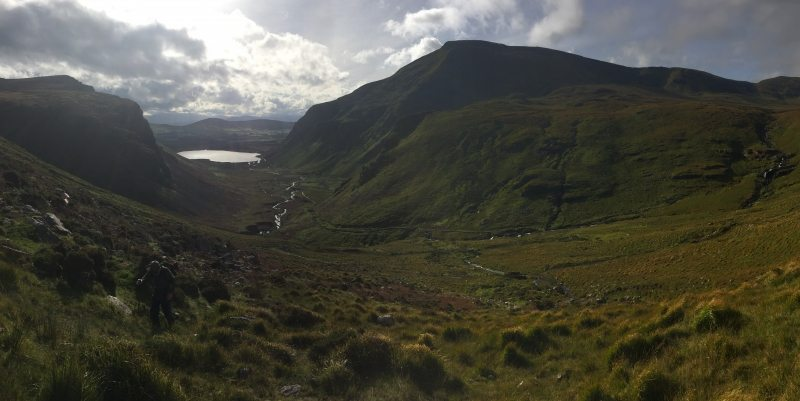 Annuscaul Lake Valley, Dingle Peninsula, Kerry, Wild Atlantic Way, Ireland