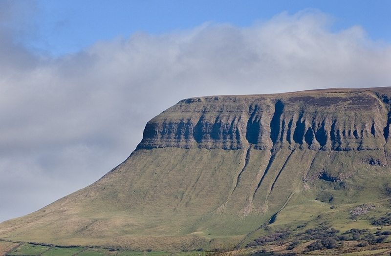 Benbulben Mountain, Sligo, Wild Atlantic Way, Ireland ccl.Mark Couvillion